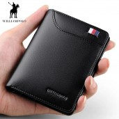 http://www.egbazar.com/WilliamPOLO Genuine Leather Card Holder Wallet (Black)