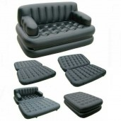 http://www.egbazar.com/5 In 1 Air Sofa Bed -Black